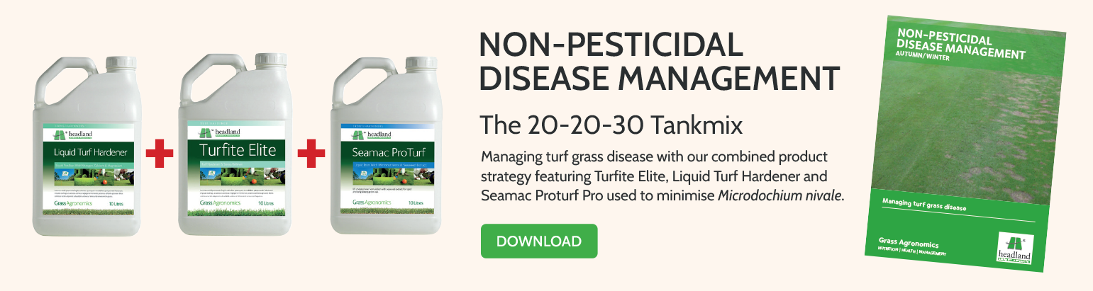 Non-Pesticidal Disease Management Banner