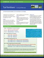 Fact File - Fertiliser Cost Per Hectare